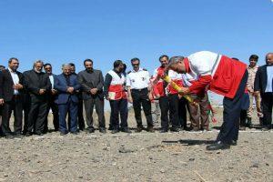 کلنگزنی پایگاه امداد جادهای ابوزیدآباد