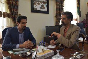 غلامیان مدیر کاشان نیوز در مصاحبه با ابریشمیراد شهردار کاشان