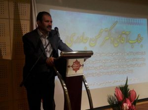 فریدون الهیاری در آیین تودیع و معارفه رئیس اداره میراث فرهنگی کاشان