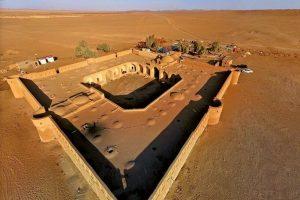 قلعه و کویر مرنجاب در آران و بیدگل