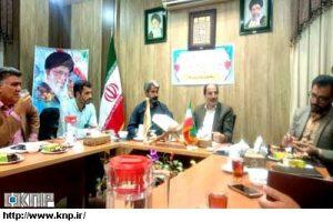 نشست شورا و شهردار نوشآباد و بررسی خواهرخواندگی با اپلیس تسیخه