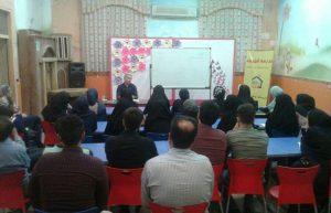 کارگاره داستان نویسی در مدرسه شهروند آزان و بیدگل