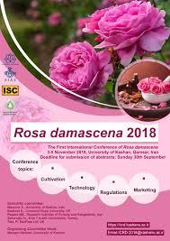 کنفرانس بینالمللی گل محمدی در دانشگاه کاشان