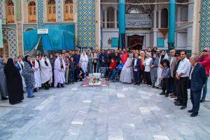حضور هنرمندان کاشان در نودمین زادروز سهراب سپهری بر مزارش