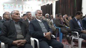 تجلیل از کارکنان آموزشگاه شهید روحی نوشآباد