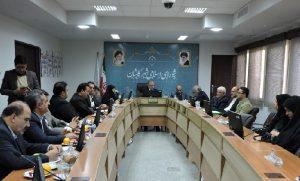 ستاد اجرایی و عوامل جشنواره ملی تئاتر مهر کاشان در شورای شهر۱