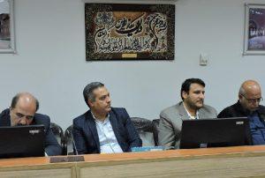 ستاد اجرایی و عوامل جشنواره ملی تئاتر مهر کاشان در شورای شهر