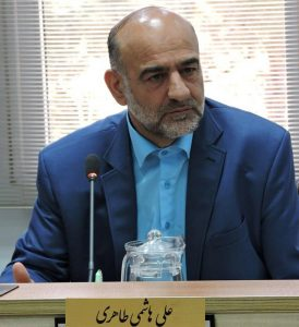 علی هاشمیطاهری در صحن شورای کاشان