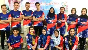 تیم اسکیت کاشان اعزامی به مسابقات مارشالکاپ کرج