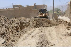 آزادسازی اراضی در منطقه 4 شهرداری کاشان
