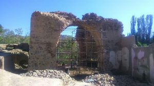 آزادسازی محوطه اطراف آتشکده نطنز