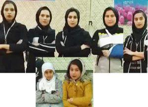 تیم ووشو بانوان کاشان در ووشو بانوان استان اصفهان