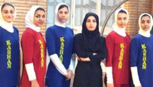 دو عضو تیم کشتی بانوان کاشان برای تیم استان انتخاب شدند