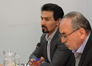 سعید ابریشمیراد در شورای شهر در تبیین طرح پارک حاشیهای