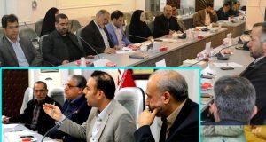 نشست شورای عالی ورزش شهرستان کاشان