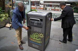 سطل زباله هوشمند