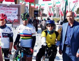 محمدجواد حمیدی نفر نخست دوچرخهسواری استان