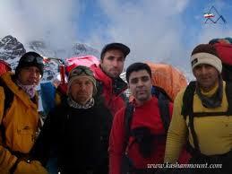 کوهنوردان کاشان که در سال ۹۱ در سقوط بهمن فوت شدند