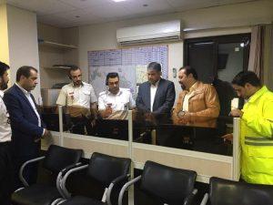 بازدید ساداتینژاد از مراکز اورژانس کاشان در ایام نوروز1