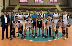 تیم والیبال منتخب دبیرستانهای کاشان قهرمان استان اصفهان