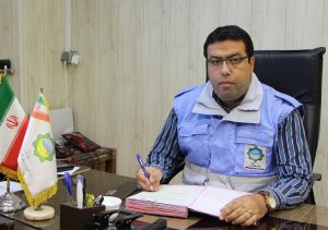 جواد مزروعی مدیر مرکز مدیریت بحران و کنترل حوادث کاشان