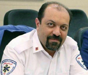 دکتر حسین ریاحی رئیس اورژانس پیشبیمارستانی و مرکز مدیریت حوادث و فوریتهای پزشکی کاشان