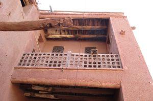 نمای ساختمانی در روستای ابیانه