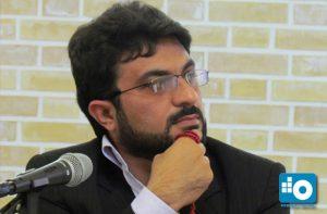 ابوالفضل صدرايیه فرماندار اسبق کاشان و مدیرعامل بازداشتی آبفای جنوب غرب تهران