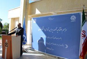 افتتاح پردیس شهدای دانشگاه کاشان با حضور عباس رضایی استاندار اصفهان