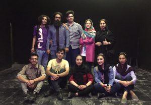 حضور بازیگران نمایش کاشان به همراه کارگردان فرانسوی در جشنواره تئاتر دانشجویی تهران