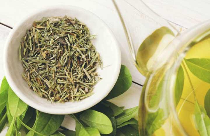 درمان سریع جوش صورت - چای سبز