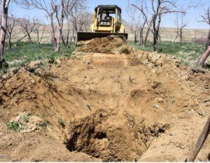 بستهشدن ۱۴ حلقه چاه غیرمجاز در آران و بیدگل