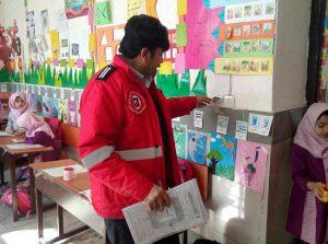 بازدید کارشناسان آتشنشانی کاشان از وضعیت ایمنی مدارس کاشان