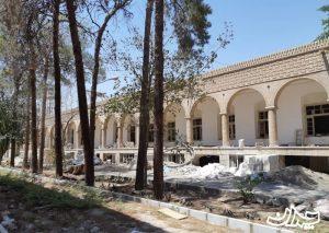 بیمارستان اخوان کاشان در حال تعمیر