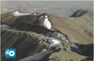 رصدخانه بینالمللی کامو بر فراز قله گرگش