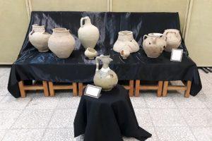 نویافتههای باستانی شمال استان در دانشگاه کاشان به نمایش درآمد
