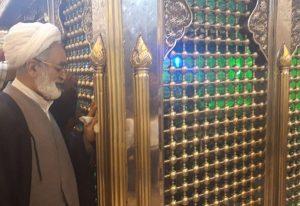 احمد سالک نماینده مردم اصفهان در صحن سلطانعلی بن امام باقر