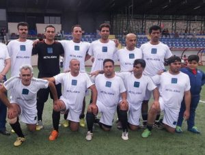 تیم پیشکسوتان فوتبال کاشان در سفر به استانبول