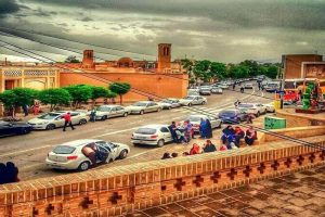 خیابان علوی و خانههای تاریخی کاشان
