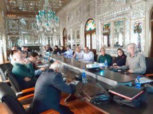 دومین نشست تخصصی پایگاههای میراثجهانی قنات و باغ ایرانی در کاخ گلستان