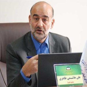 علی هاشمی طاهری عضو شورای شهر کاشان
