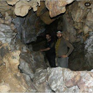 کشف غار شگفت در زیر بافت مسکونی برزک کاشان7