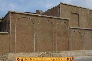 بهسازی دیوارههای معابر اصلی و تاریخی کاشان