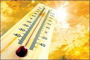 دمای کاشان گرم میشود