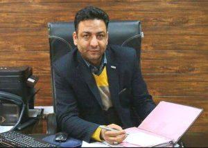 مجتبی آراسته رئیس اداره راه و شهرسازی آران و بیدگل