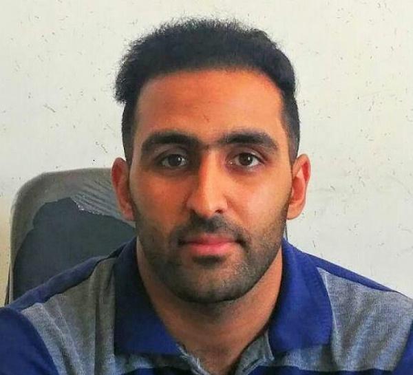 محمدرضا حیدری فعال و نویسنده ورزسی کاشان