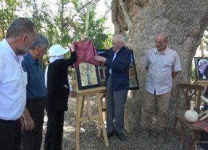 آیین بزرگداشت استاد کمال الملک در روستای کله کاشان
