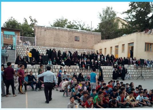 جشنواره بازیهای بومی محلی نشلج کاشان