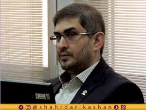 دکتر سید علیرضا مروجی معاون بهداشتی دانشگاه علوم پزشکی کاشان