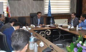 نشست خبری محمد معدندار مدیر آموزش و پرورش کاشان در روز خبرنگار